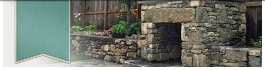 Stone Fireplace and Landscape construction by New View of Hopkinton, MA