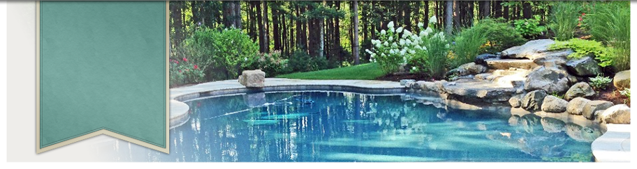 Custom Landscape And Pool Design By New View, Hopkinton, MA