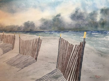 Windswept Watercolor by Doug DeWolfe of New View
